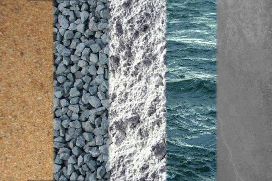 Характеристика бетонной смеси.