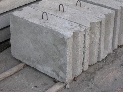 Фундаментные блоки ЖБИ ( ФБС )