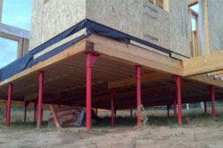 Панельный декор фундамента