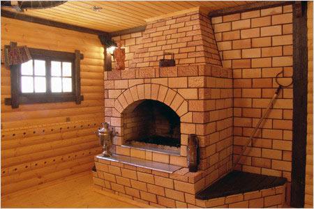 В каждой бане имеется система отопления. В основном это печи. В тех случаях, когда вес печи составляет 70 кг и более, то для ее строительства необходимо возвести фундамент.
