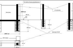 Подробная схема заливки фундамента.