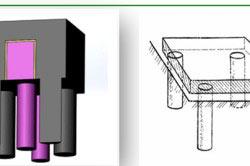 Столбчатый фундамент под банную печь необходим в регионах с глубоким промерзанием и позволяет сэкономить.