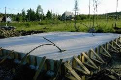 Опалубка для плитного фундамента