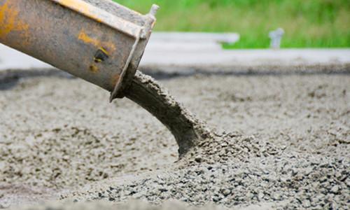 Раствор бетона