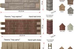 Размеры цокольных панелей