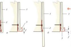Соединение рядовых цокольных панелей и стартовых полос
