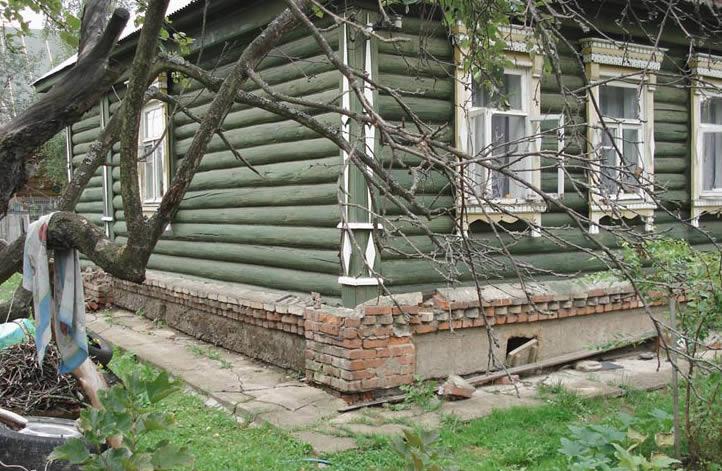 Дом с подвешенным фундаментом