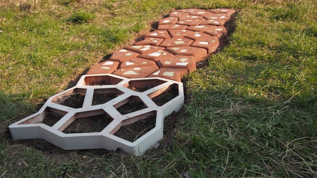 Сделать формы для тротуарной плитки своими руками