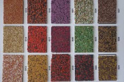 Образцы мозаичной штукатурки