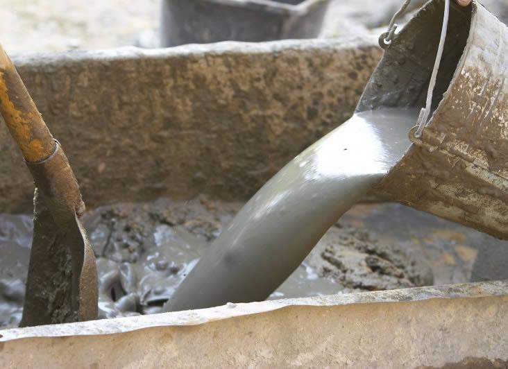 Цементный раствор для фундамента