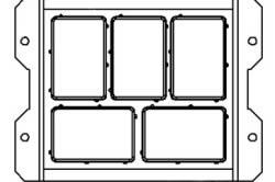 Схема формы для тротуарной плитки