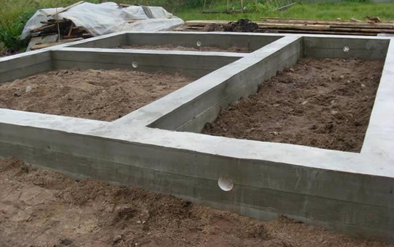 Как сделать фундамент из блоков своими руками 12